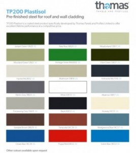 Industrial Steel Flashings And Trims Thomas Panels And