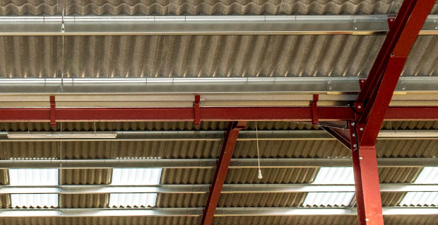 Industrial Steel Purlins and Sections | Thomas Panels and