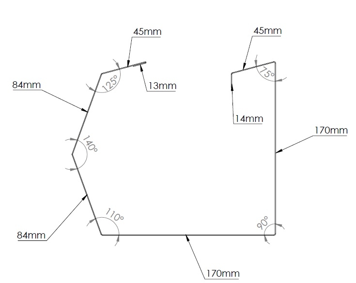 trimline gutter diagram